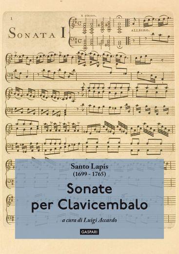 SONATE PER CLAVICEMBALO - Santo Lapis, a cura di Luigi Accardo