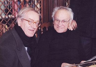 Romano Montroni e Roberto Cerati